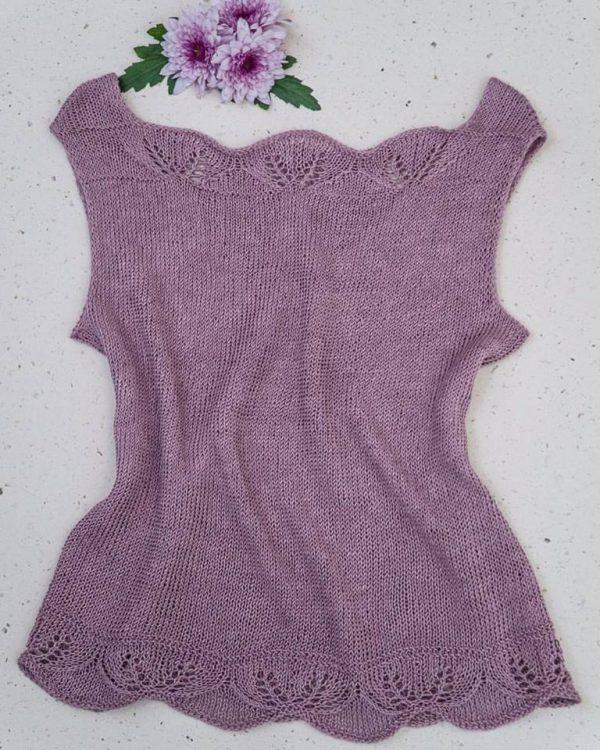 Patrón Camiseta Violeta