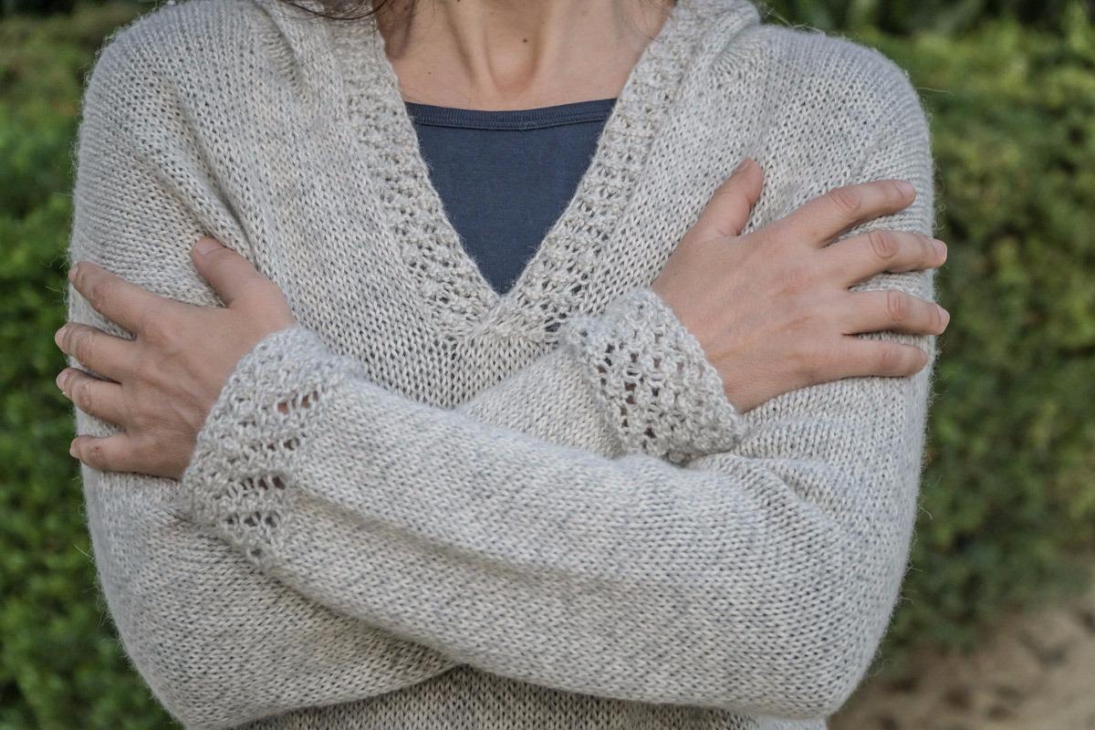 Illika Sweater Knitting Pattern
